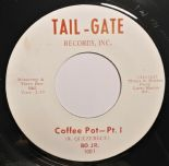 "45Re ✦BO JR.✦ ""Coffee Pot Pt. 1 & Pt. 2"" Killer Funk/Soul/R&B Instrumental.Hear♫"